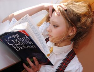 Girl Studying Languages: How to Learn Conversational Farsi