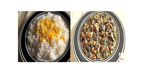 Persian Stew and Rice