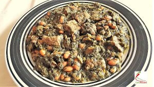Ghormeh Sabzi or Persian Herb Stew to Learn Farsi
