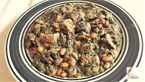 Ghormeh Sabzi or Persian Herb Stew to Learn Farsi