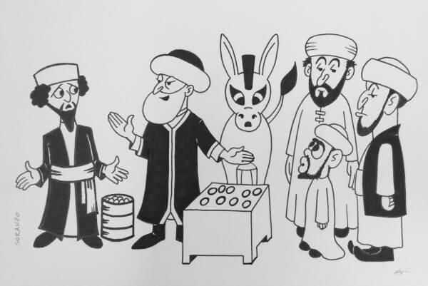 Mullah Nasruddin, Molla Nasredin