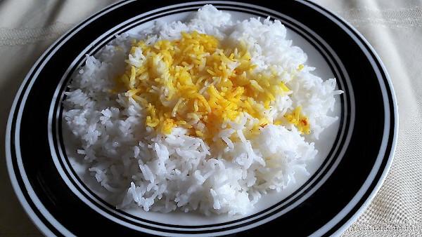 Saffron in Persian Food